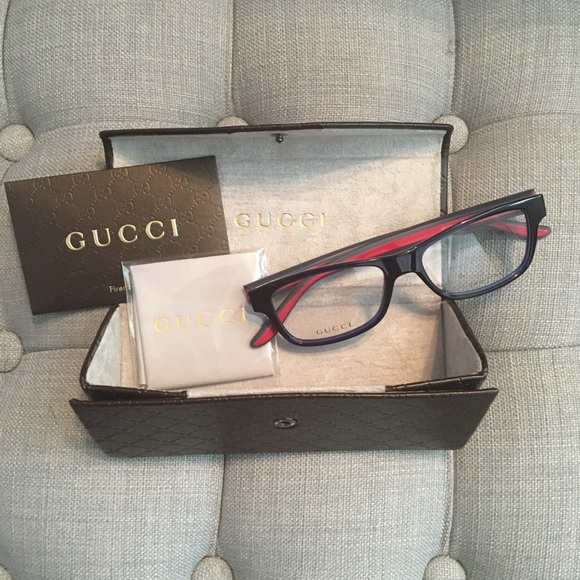 fd85b55da84 Gucci Accessories - Gucci Eyeglass Frames - Blue
